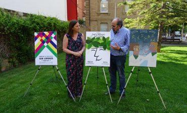 El jurado del Concurso del Cartel Anunciador de las Fiestas de San Lorenzo 2018 ha seleccionado tres diseños finalistas
