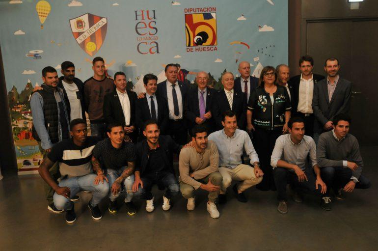 """Miguel Gracia: """"El impulso de la SD Huesca va a contribuir a romper la imagen actual que se tiene de Aragón"""""""