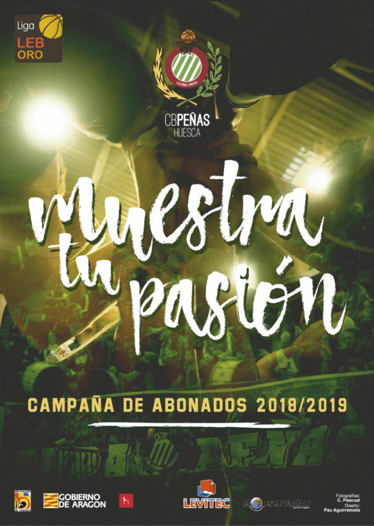El Club Baloncesto Peñas lanza su campaña de abonados para esta temporada