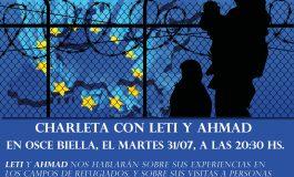 La experiencia de los refugiados en Grecia, contada en primera persona en Huesca