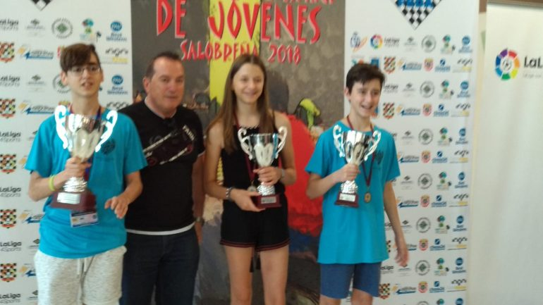Brillante actuación de los ajedrecistas de Monzón y Huesca en el Campeonato de España Sub 14