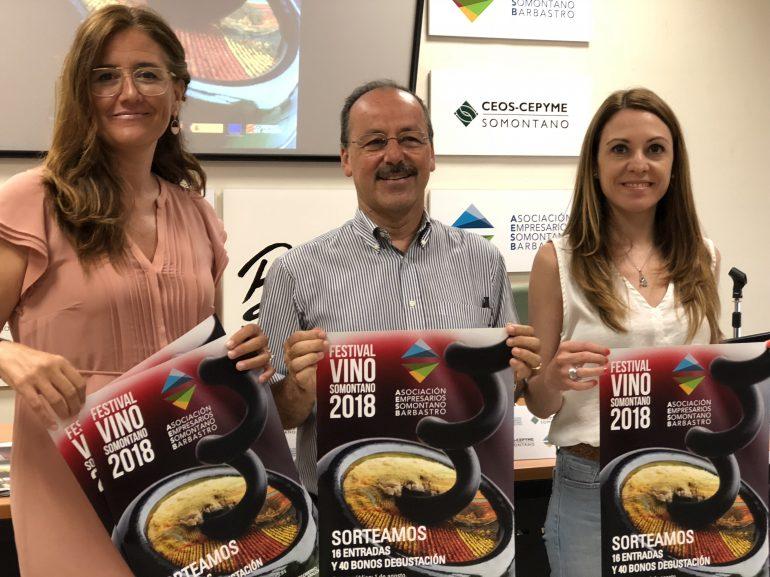 El comercio de Barbastro se suma al Festival Vino del Somontano
