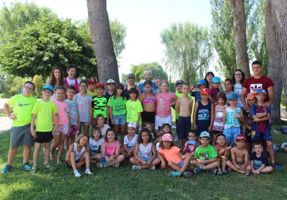 Medio millar de personas participan en las actividades deportivas de verano que organiza la Comarca de Los Monegros