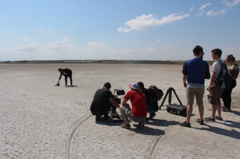 Los Monegros, escenario de rodaje cinematográfico