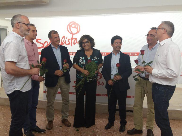 El PSOE del Alto Aragón apoya como candidatos a los actuales alcaldes de los municipios con más de 5.000 habitantes