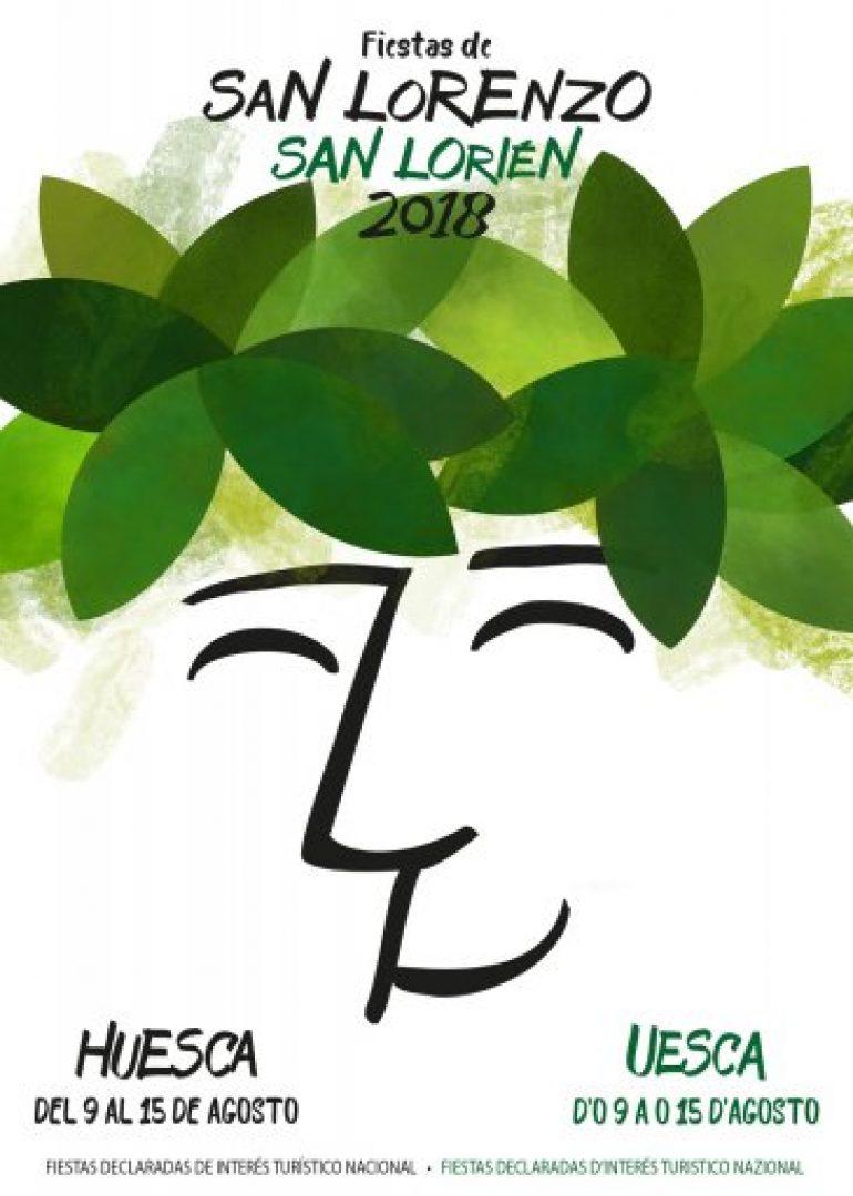 Programa oficial de los actos de las fiestas de San Lorenzo de Huesca