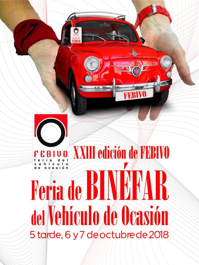 La Feria de Binéfar del Vehículo de Ocasión 2018 ya tiene cartel anunciador