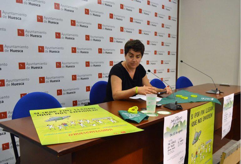El Ayuntamiento de Huesca impulsa la campaña de prevención  y reducción de riesgos para unas fiestas más saludables