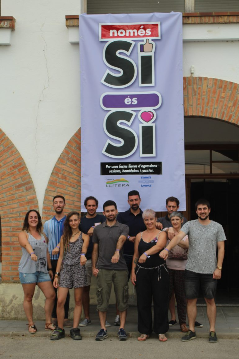 Ayuntamientos, Comarca y asociaciones juveniles respaldan la campaña del Colectivo por la Igualdad contra las agresiones sexuales