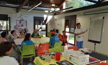 Los usuarios del centro Ignacio Claver de Atades Huesca presentan, este fin de semana, un cómic en el Salón Hispano Francés del Cómic