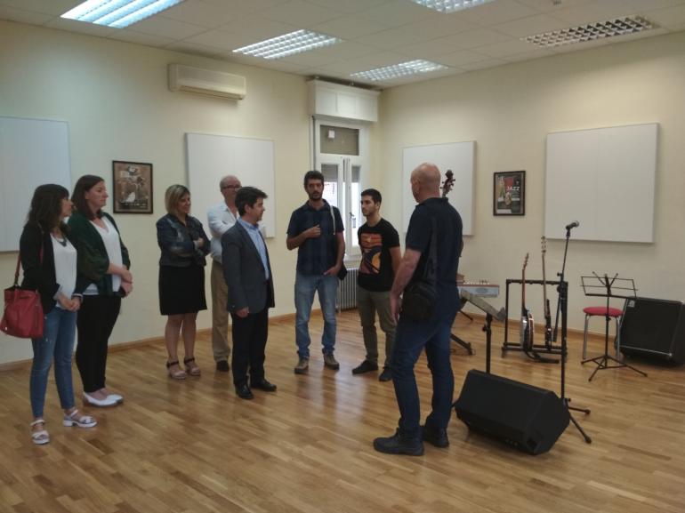 """Luis Felipe: """"Con la Casa de la Música, Huesca gana un nuevo espacio cultural y recupera actividad en el centro"""""""