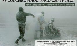 """CADIS Huesca convoca el XX concurso fotográfico """"Discapacidad y dependencia: maneras de vivirlas"""""""