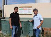 Binéfar dispondrá de la primera planta municipal de compostaje FORM y de restos vegetales en Aragón