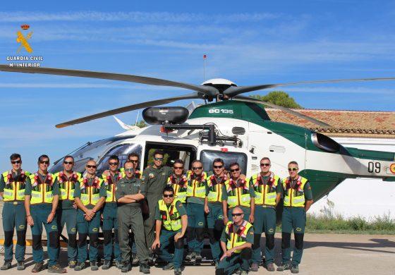 La Guardia Civil realiza unas jornadas formativas para instructores de montaña