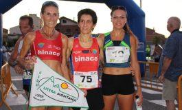 Alberto Susin y Mónica Saludas se alzaron con la victoria en la carrera 10 km de Binéfar