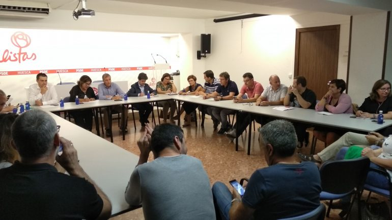 El PSOE Altoaragonés respalda la gestión de Luis Felipe al frente del Ayuntamiento de Huesca, «que ha antepuesto siempre el interés de la ciudadanía»