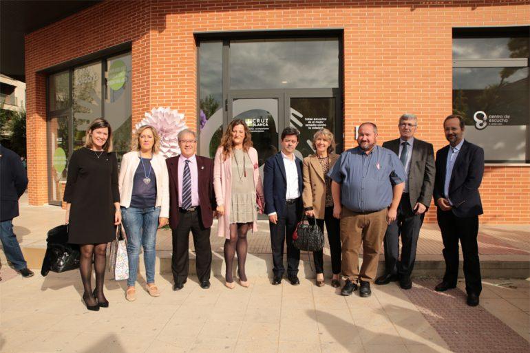 Cruz Blanca inaugura el Centro de Escucha D. Javier Osés en Huesca