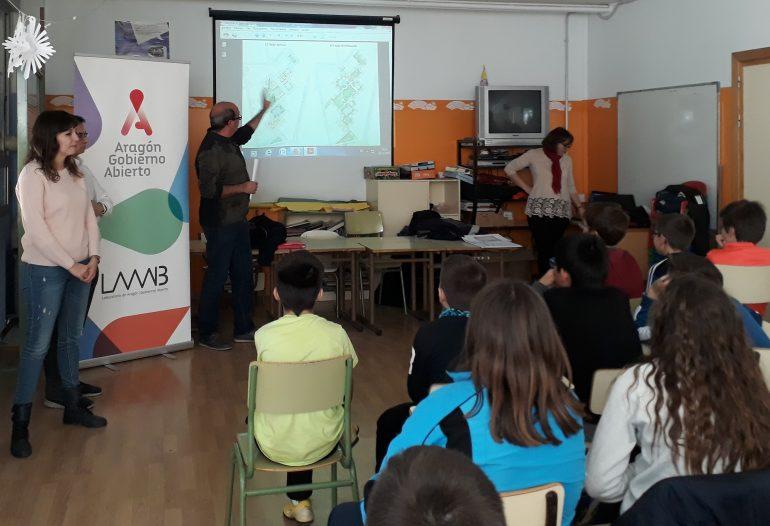 Interesante sesión de retorno de participación ciudadana en el colegio Sancho Ramírez