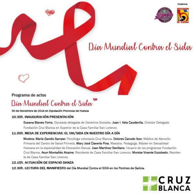 Cruz Blanca celebra el «Día Mundial de la Lucha contra el Sida»