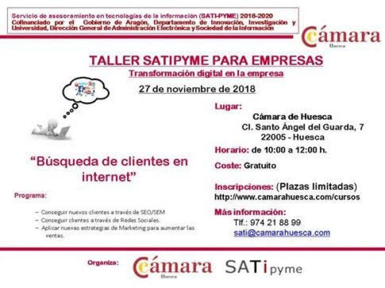 Actividades que se van a realizar durante esta semana por Cámara de Huesca