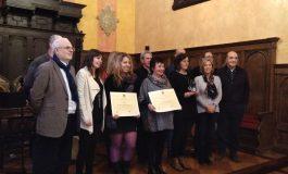Elena Gusano Galindo y el CRA Alta Ribagorza recogen los premios Pedro Lafuente de Huesca