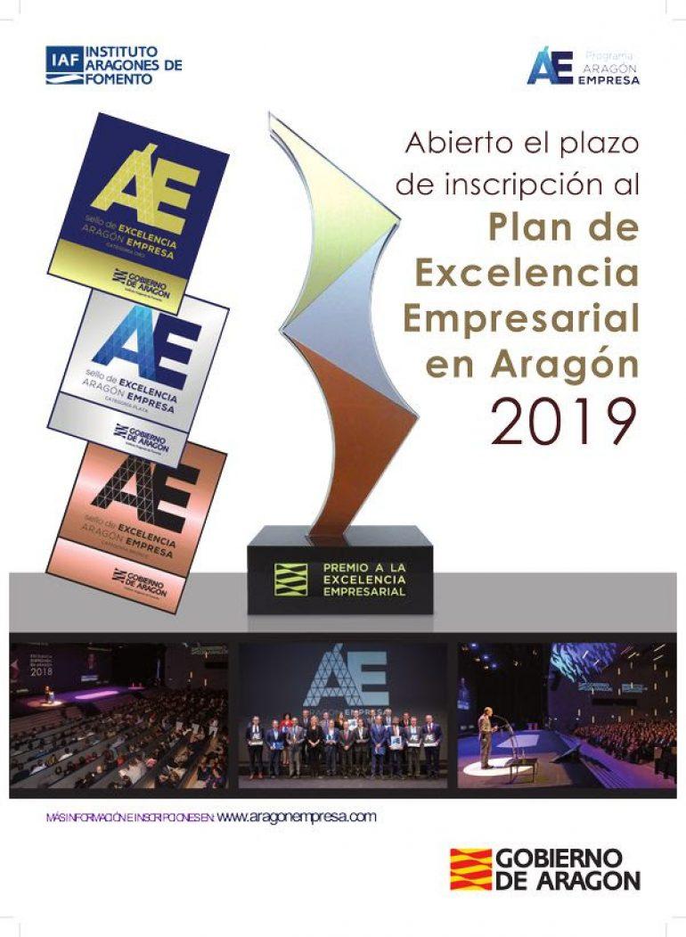 Hasta el 31 de enero abierto el plazo de inscripción al Plan de Excelencia Empresarial en Aragón 2019