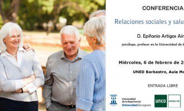 La Universidad de la Experencia organiza tres conferencias en Barbastro, Sabiñánigo y Fraga