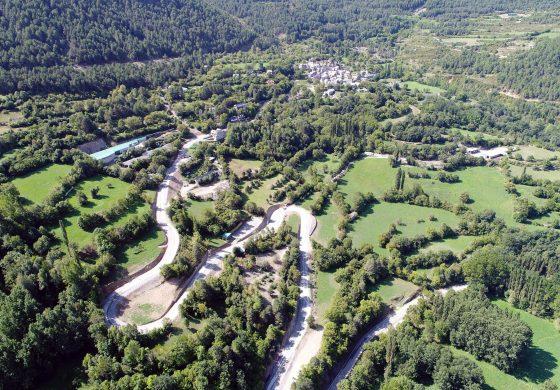 Saravillo tendrá un renovado acceso de alta montaña que pondrá fin a las dificultades de su estrecha calzada
