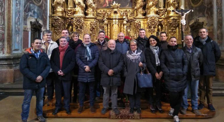 Reunión de Juntas de Cofradías de Aragón en Huesca