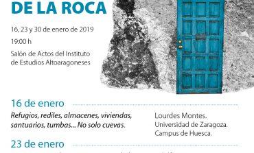 Ciclo de conferencias 'Al abrigo de la roca' en el Instituto de Estudios Altoaragoneses de Huesca