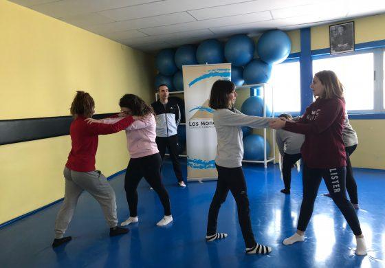 Gran acogida de los talleres de defensa personal para mujeres en los Monegros