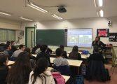 El Campus de Huesca imparte charlas de orientación universitaria en todas las comarcas altoaragonesas