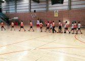 El equipo montisonense de balonmano 'Gimnasio CDM Monzón' se enfrentó al Corazonistas