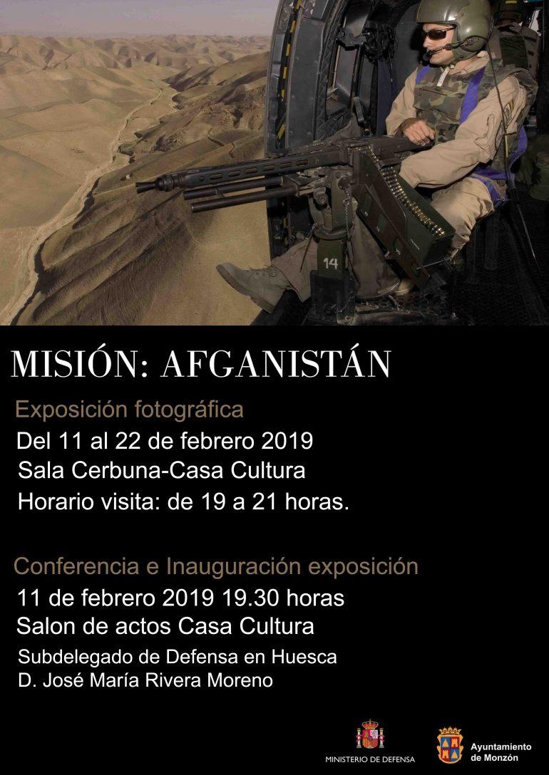 """Exposición fotográfica """"Misión: Afganistán» en la Casa de la Cultura de Monzón"""