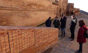 Ultiman las obras de mejora de la seguridad en el castillo de Monzón