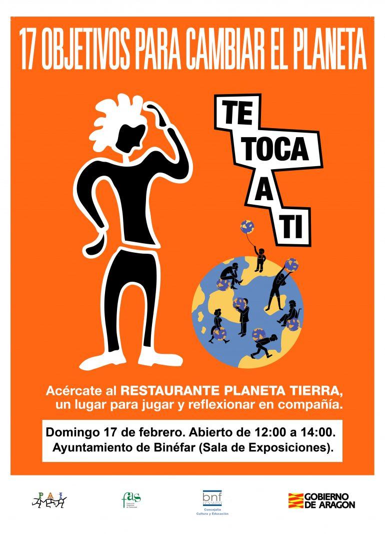 El Restaurante Planeta Tierra llega a Binéfar