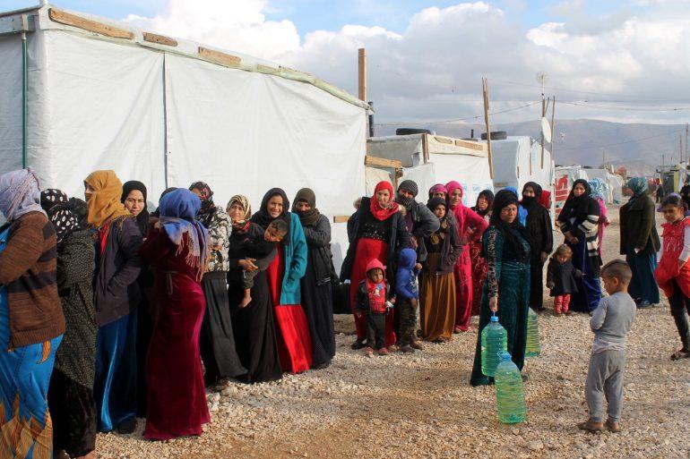La ONG Arapaz hace balance en Huesca de la situación de los refugiados sirios en Líbano