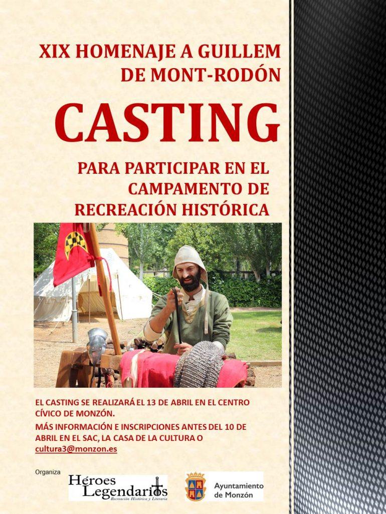 Casting para seleccionar a los figurantes del campamento medieval de Mont-rodón