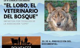 Charla coloquio en Binéfar sobre el lobo y proyección sobre una granja regenerativa