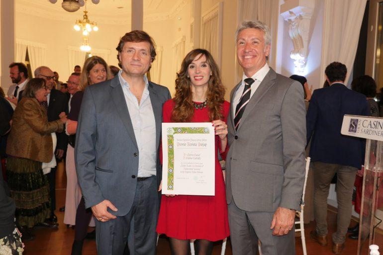 La bióloga de Huesca Lorena Escuer, reconocida por los premios nacionales de jardinería