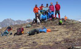 El Club Montisonense de Montaña asciende al Pico Puerto Viejo