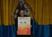La rana de Imaginaria y dos titiriteras anuncian la VII edición del Festival de Títeres e Imagen en Movimiento de Binéfar