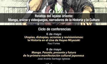 Nueva edición del ciclo 'Vida en Ficciones. Relatos en la era audiovisual', esta vez centrado en el manga, anime y videojuegos