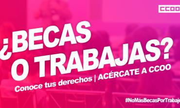 CC.OO. y el Colectivo de Estudiantes Progresistas de Aragón lanzan una campaña centrada en las prácticas académicas