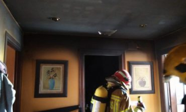 Dos incendios en sendas viviendas de Binéfar obligan a evacuar a los vecinos de uno de los inmuebles