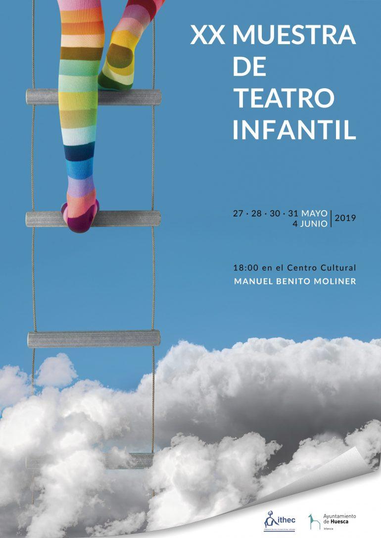 20 años de la Muestra de Teatro Infantil de Huesca, que se celebra la próxima semana con más de 200 niños de ocho colegios