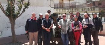 El hijo de George Orwell visita Los Monegros
