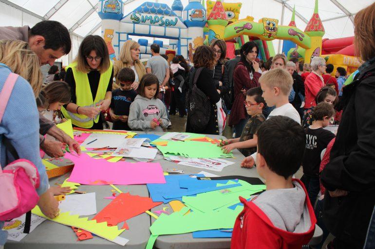 Actos previos a la 7ª Marcha ASPACE Huesca el sábado