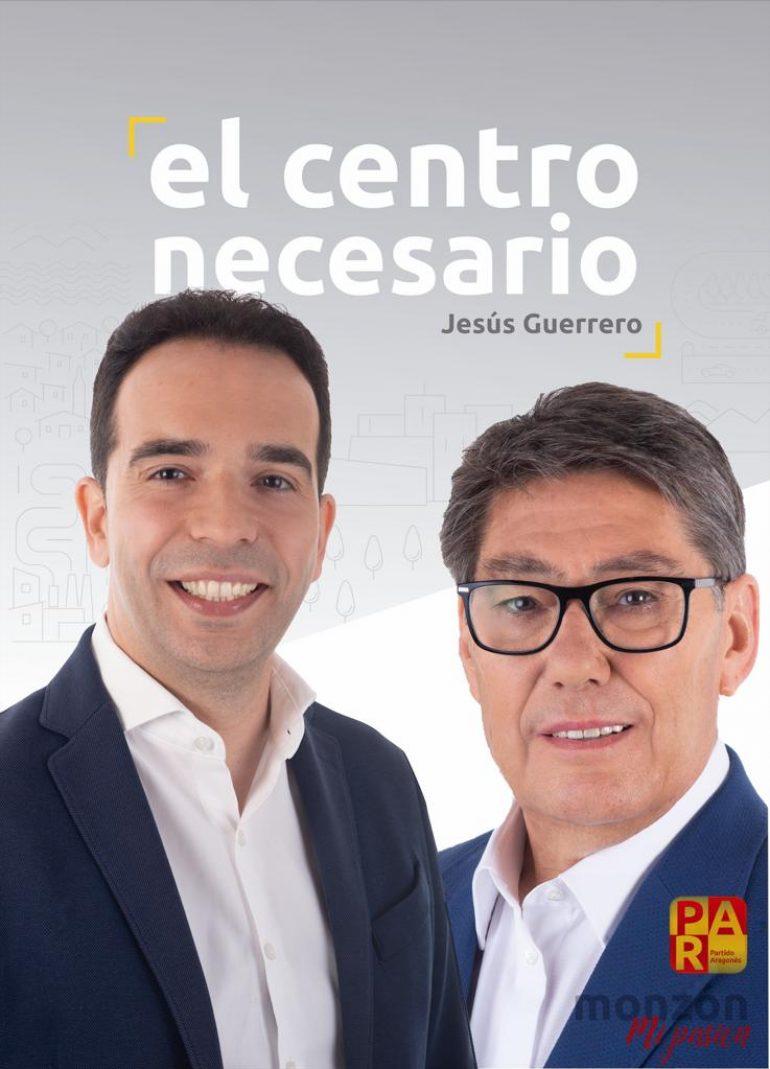 Entrevista con Jesús Guerrero, candidato del PAR a la alcaldía de Monzón y a las Cortes de Aragón