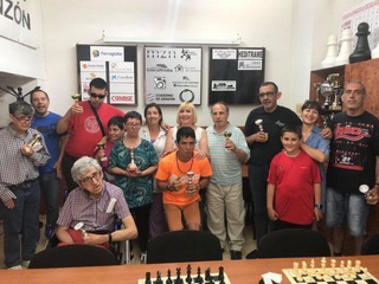 Actividades del Club Ajedrez Monzóny de  la Escuela de Ajedrez Ferroglobe Monzón